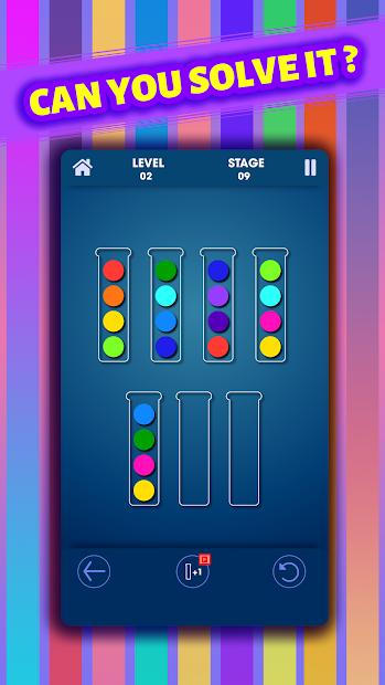 Sort Puzzle screenshot 1