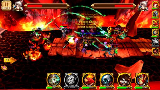 Battle of Legendary 3D Heroes apklade screenshots 1