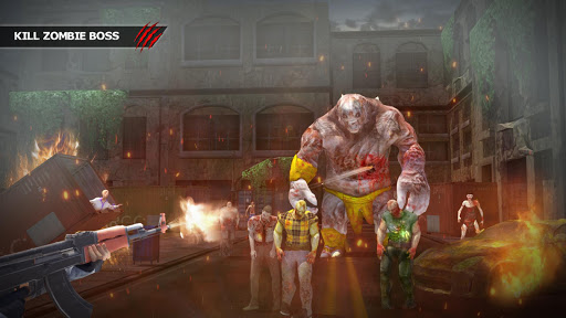 Dead Walk City : Zombie Shooting Game  screenshots 1