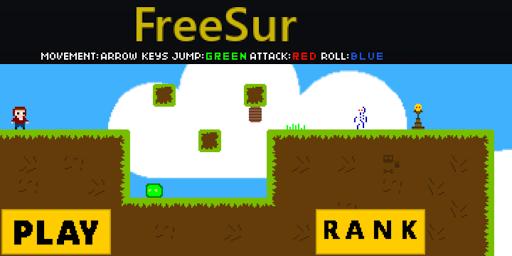 freesur 8 bit retro game screenshot 1