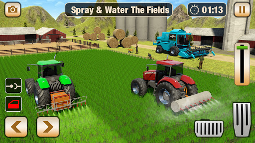 Real Tractor Driving Games- Tractor Games 1.0.13 Screenshots 4