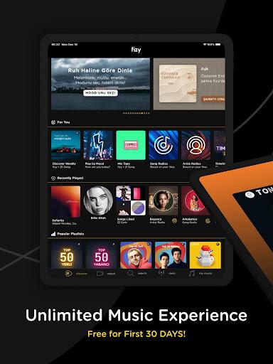 fizy u2013 Music & Video 8.6.4 Screenshots 12