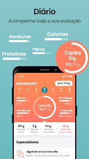 Tecnonutri: Low Carb, Jejum Intermitente e Nutri Screenshot