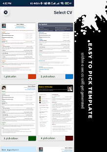 Resume Builder - CV creator 2021 generate PDF