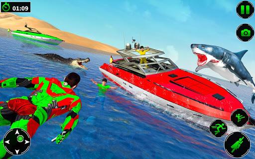 Light Robot Superhero Rescue Mission 2 32 screenshots 11