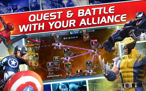 Marvel Contest of Champions Apk Mod + OBB/Data for Android. 8