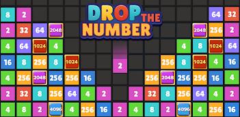 Jugar a Drop The Number™ :  Merge Game (Suelta el Número) gratis en la PC, así es como funciona!