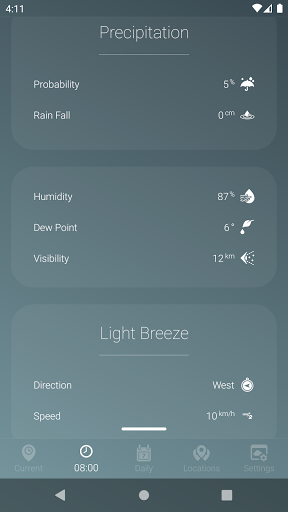 How is the Weather - Different, Simple & No Ads v17_24.01 Screenshots 3