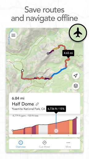 Footpath Route Planner - Running, Hiking, Bike Map  Screenshots 2