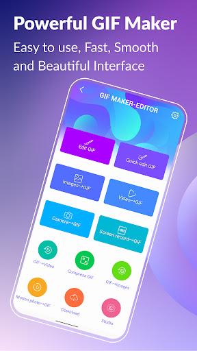 GIF Maker, GIF Editor  screenshots 1