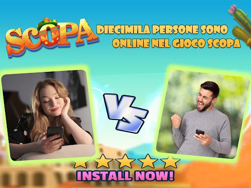 Matta Scopa:Italian card game screenshots 6