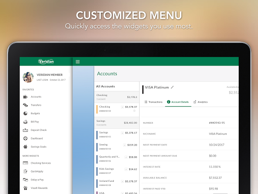 Veridian Credit Union Mobile Banking android2mod screenshots 13