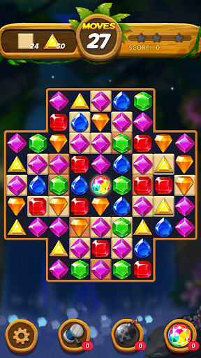 Jewels Forest : Match 3 Puzzle apkpoly screenshots 18