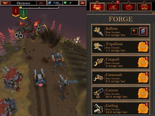 Castle Fusion Idle Clicker screenshots 11