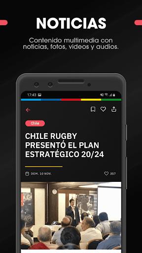 SAR - Sudamu00e9rica Rugby 2.5.1 screenshots 5