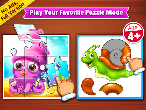 Puzzle Kids - Animals Shapes and Jigsaw Puzzles  screenshots 9