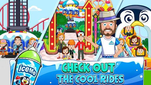 My Town : Fun Amusement Park Game for Kids Free screenshots 3
