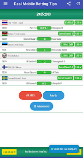 Real Bet VIP Correct Score Betting Tips
