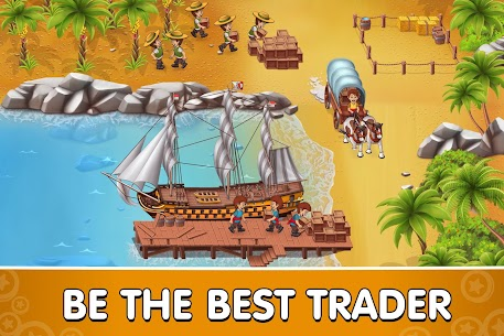 Pocket Ships Tap Tycoon MOD (Unlimited Gold) 1