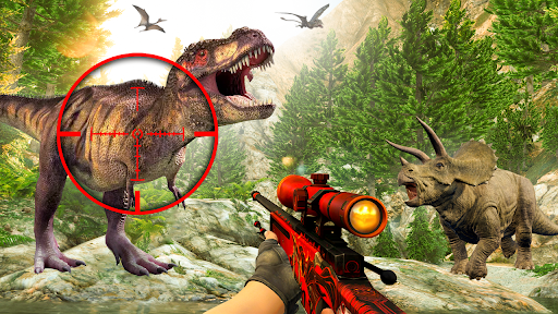 Dino Hunter 3D - Animal Sniper Shooting Games 2021 1.1.1 screenshots 1