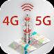 インターネット スピードテスト メーター 3G 4G 5G 速度 テスト メーター