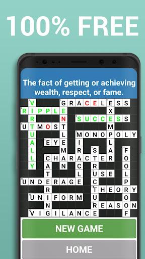 Crossword Puzzle Free Classic Word Game Offline 3.8 screenshots 7