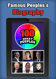 100 Great People: famous Biography