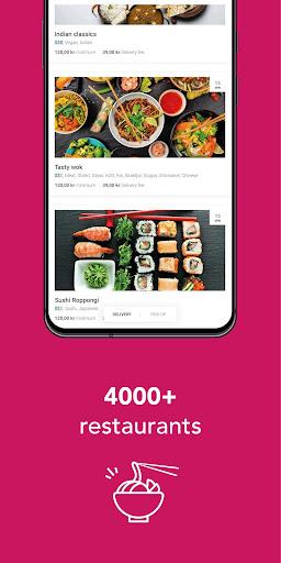 foodora Sweden 21.10.0 Screenshots 2