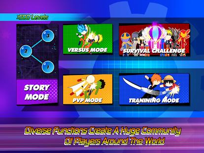 Super Stick Fight All-Star Hero: Chaos War Battle 2.0 Screenshots 21