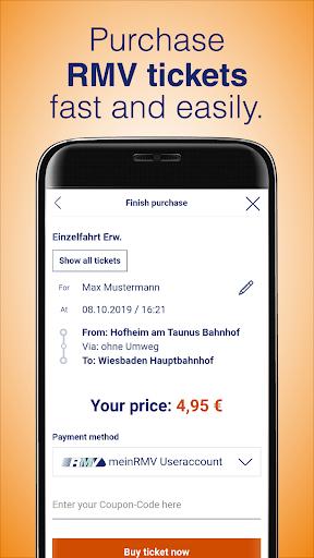 RMV Rhein-Main-Verkehrsverbund 2.10.0 Screenshots 3