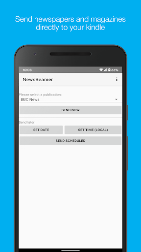 newsbeamer screenshot 1