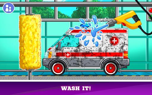 Kids Cars Games! Build a car and truck wash!  screenshots 3