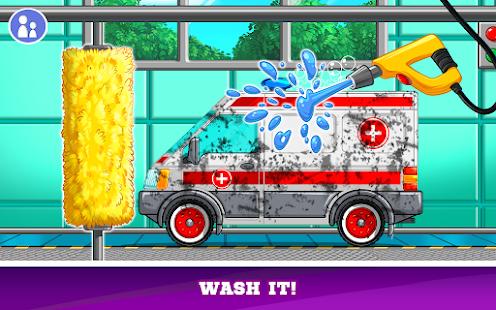 Kids Cars Games! Build a car and truck wash! 3.0.22 screenshots 3