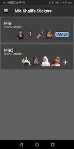 Mia Khalifa Stickers (WAStickerApps) 1