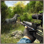 Wild Animal Hunting : Jungle Sniper FPS Shooting