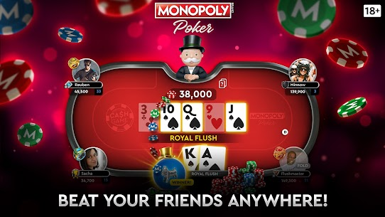 MONOPOLY Poker – The Official Texas Holdem Online Apk Download NEW 2021 5
