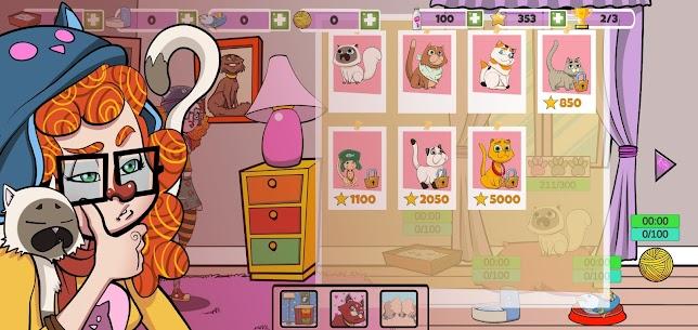 Crazy Cat Lady Mod Apk- Free Game (Unlimited Money) 3