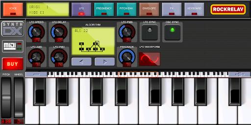 rockrelay synth fm screenshot 1