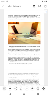 N Docs - Office, PDF, Text, Markup, Ebook Reader Screenshot
