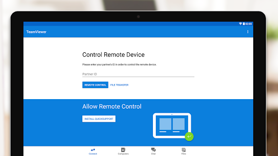 TeamViewer Remote Control Screenshot