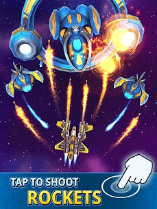 Idle Space Clicker MOD APK 1.9.0 (God Mode, OneHit) 6