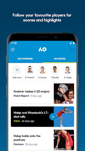 australian open tennis 2020 screenshot 1
