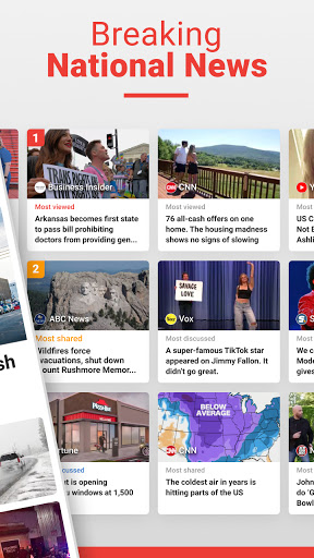 News Break: Local Breaking Stories & US Headlines  screenshots 2