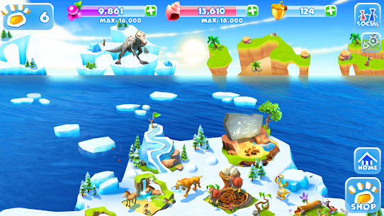 Ice Age Adventures MOD APK 2.0.8d Download [Unlimited Shopping] 6