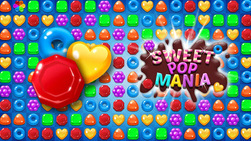 Candy Sweet Pop  : Cake Swap Match apkdebit screenshots 1