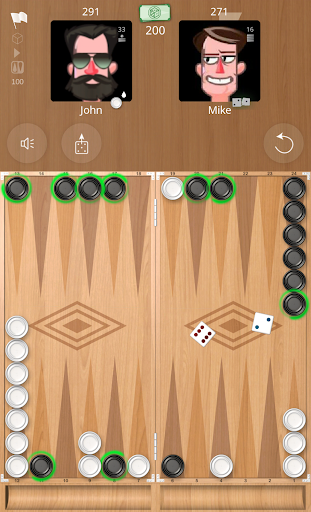 Backgammon Online 1.2.5 Screenshots 1