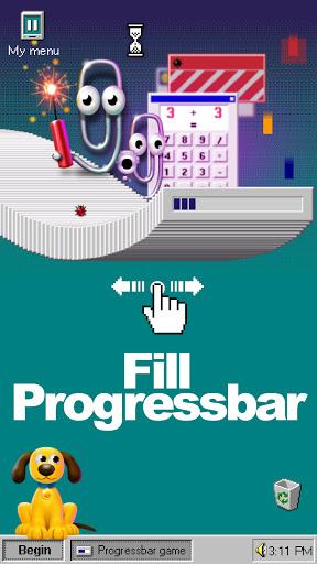 Progressbar95 - easy, nostalgic hyper-casual game Apkfinish screenshots 2
