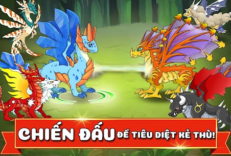 Dragon Battle Ver. 12.48 MOD APK | Unlimited Gold | Unlimited Diamonds | Unlimited Resources 2