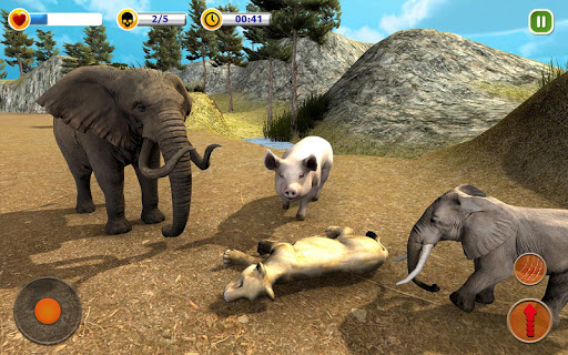 The Lion Simulator - Animal Family Simulator Game 1.3 screenshots 10