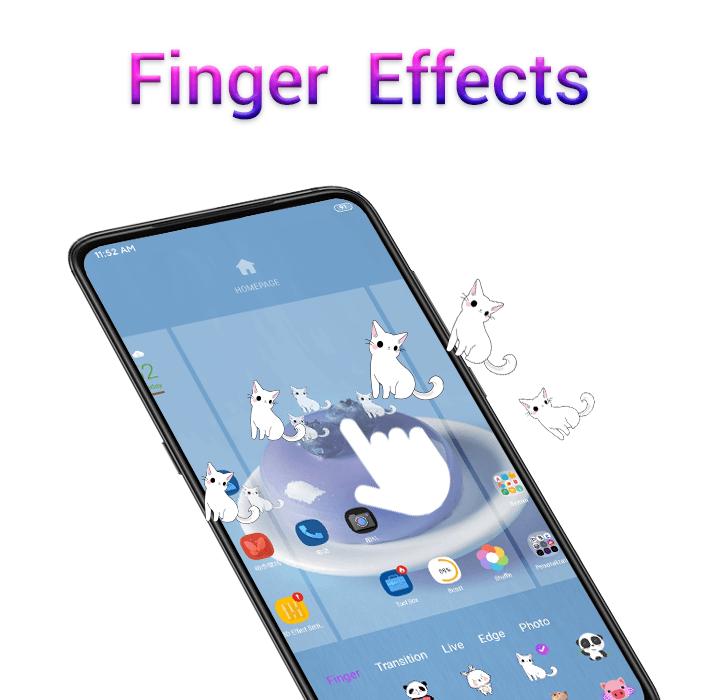 3D Effect Launcher - Cool Live Effect, Wallpaper  poster 1